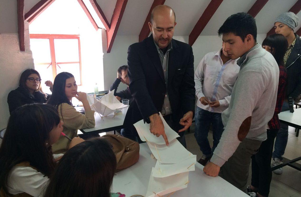 El arquitecto guatemalteco alfredo maul visit la for Arquitecto universidad