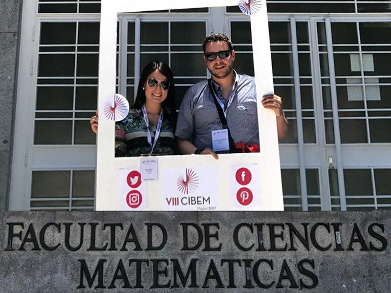 Universidad presente en el Congreso Iberoamericano de Educación Matemática en España