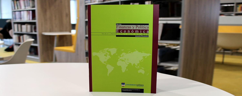 """revista""""Finanzas y Política Económica"""" logró obtener la categoría B en el Índice Bibliográfico Nacional - IBN Publindex,"""