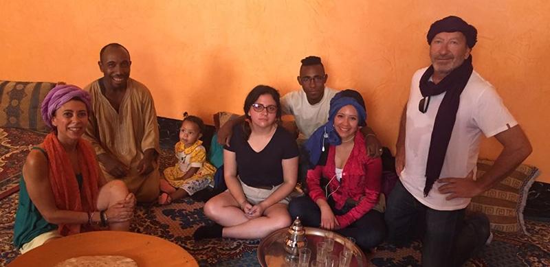 Viaje a Marruecos, internacionalización