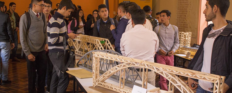 Concurso de puentes en el marco de la semana de la Ingeniería