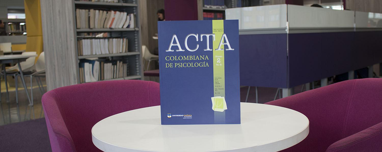 Revista Acta Colombiana de Psicología