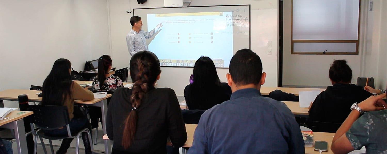 Clases de inglés en el instituto de lenguas
