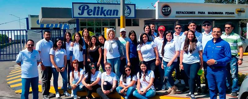 Estudiantes en Pelikan México
