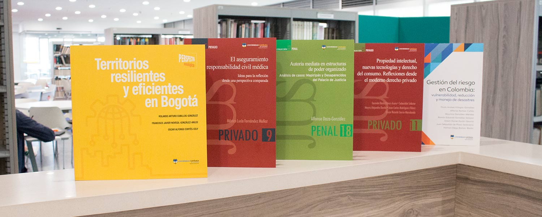 Novedades Editoriales de la Universidad Católica de Colombia