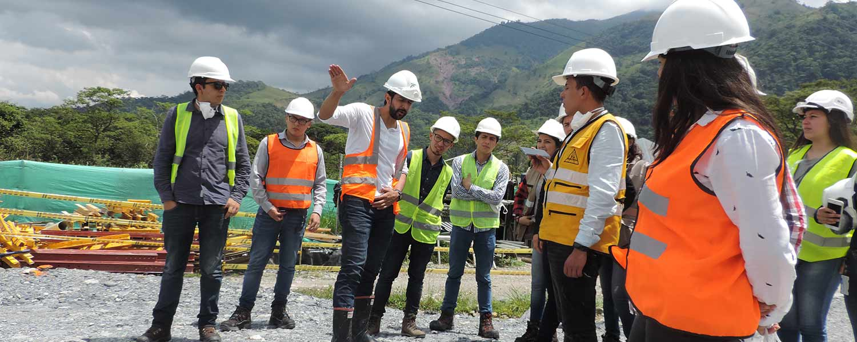 Facultad de Ingeniería visitó el proyecto Chirajara-Fundadores