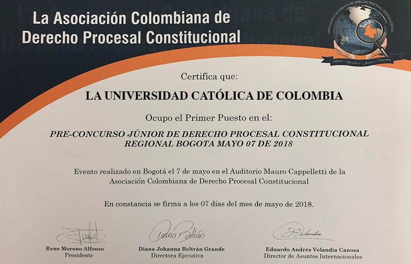 Concurso Facultad de Derecho