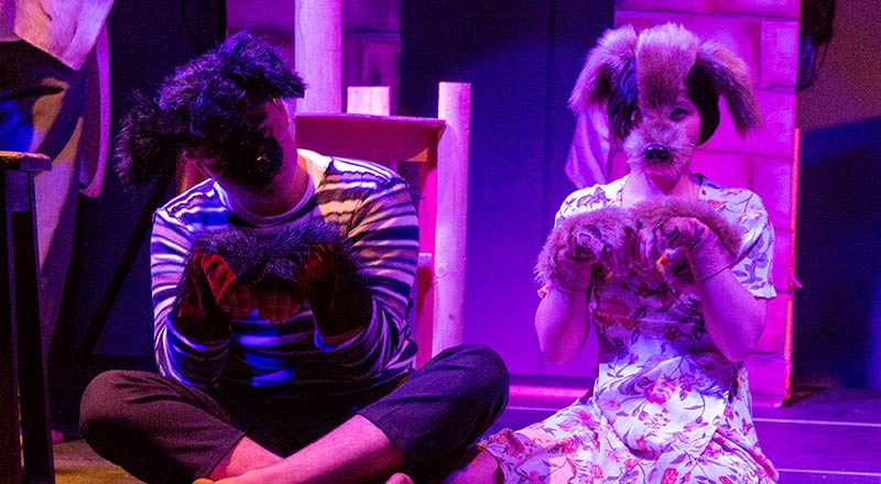 Grupo de Teatro Catarsis en Festival Ascun