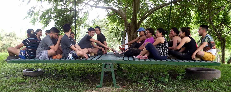 Campamento estudiantes. Vida Universitaria con sentido