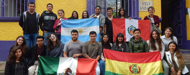 U. dio la bienvenida a nuestros estudiantes de movilidad académica
