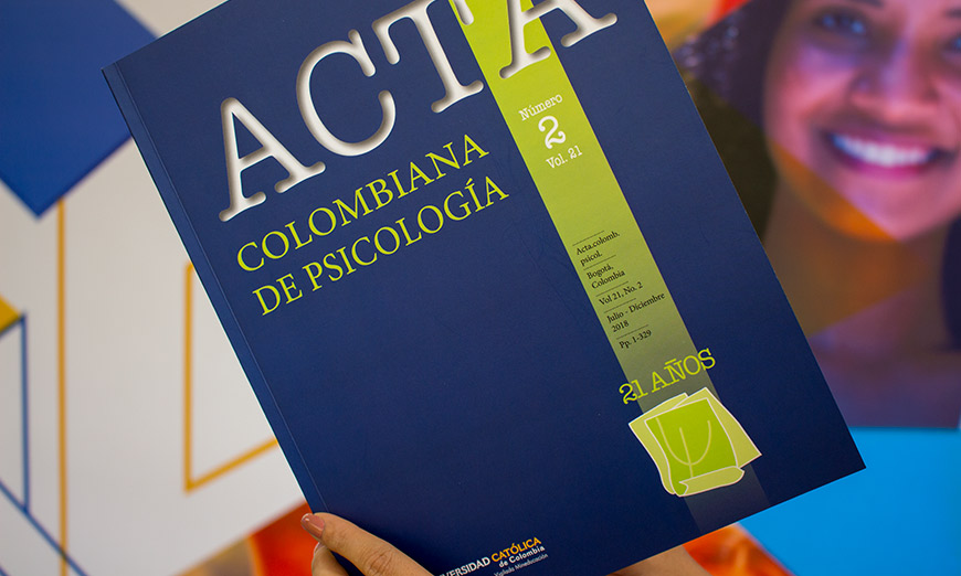 Acta Colombiana de Psicología